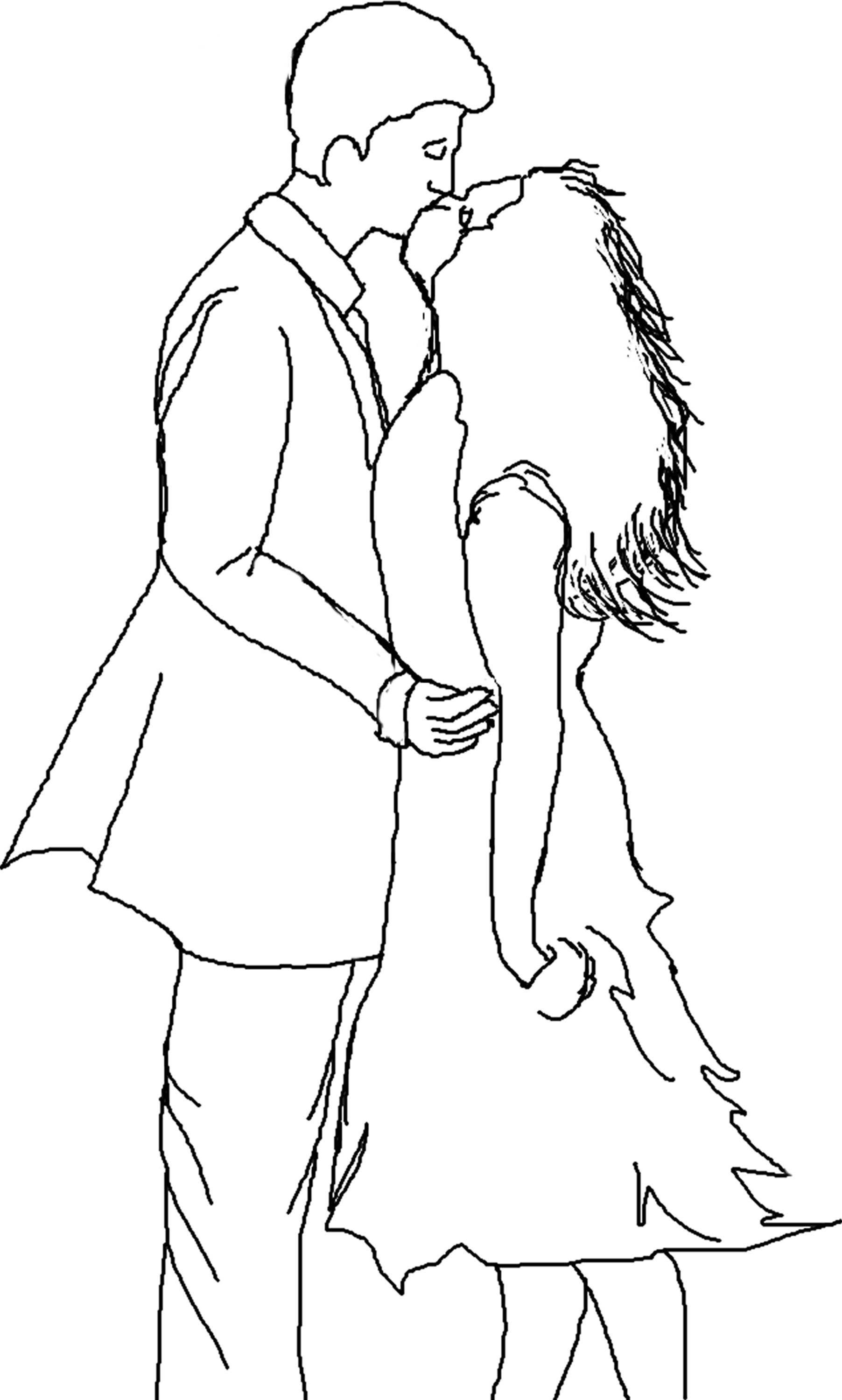 Tumblr Couple Coloring Pages