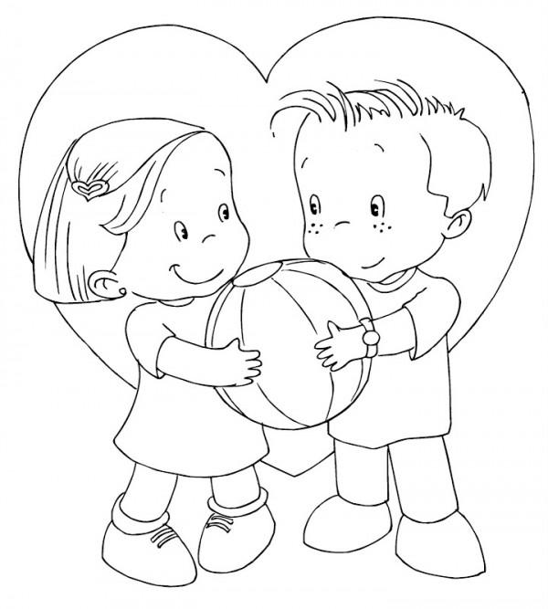 Para Dibujar Amor Y La Dia Amistad Del