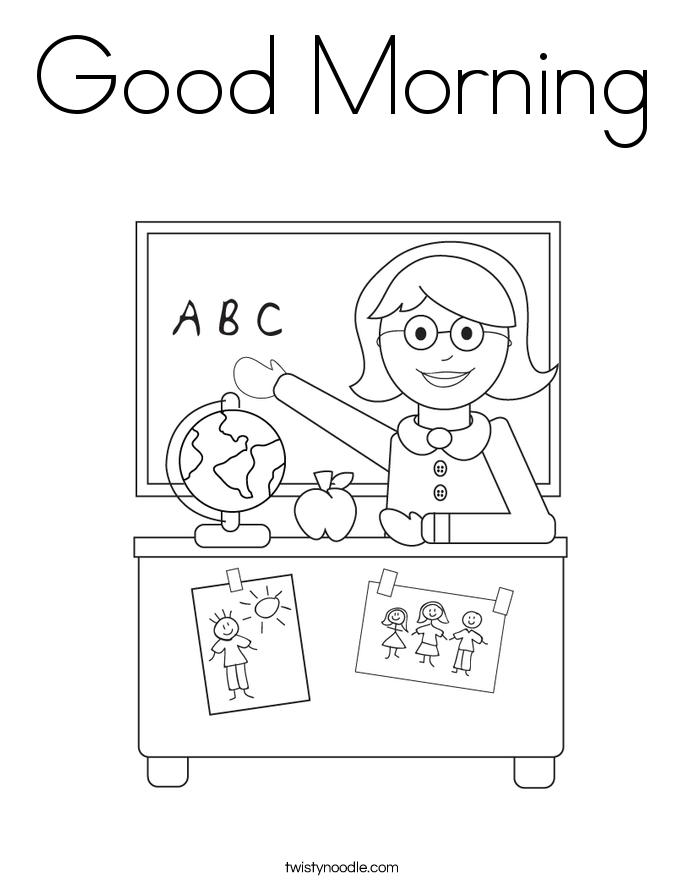 Para Saludos Ingles En Colorear De Dibujos