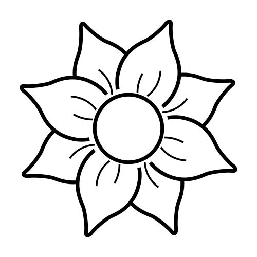 Imagenes De Flores Bonitas Para Dibujar On Log Wall