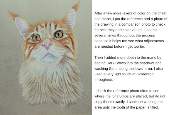 How to use a colored pencil tutorial.