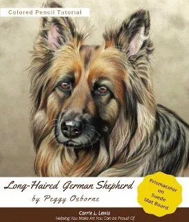 Long Haired German Shepherd Tutorial