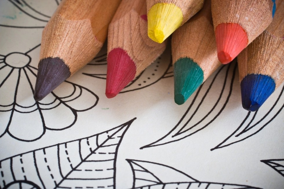 The best surfaces for colored pencils may not be what adult coloring books are printed on.