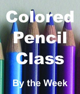 Colored Pencil Class by the Week