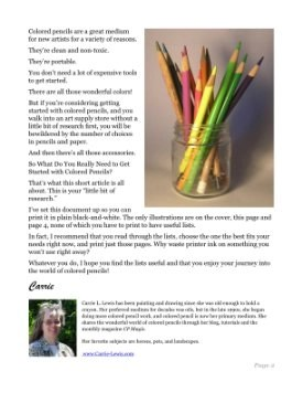 Everything You Need to Get Started with Colored Pencils Page 2