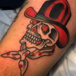 Skull Cowboy Hat