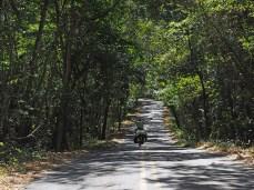 Auf dem Weg zum Parque Nacional Santa Rosa