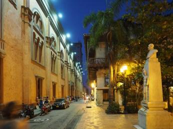Koloniale Gassen in Cartagena