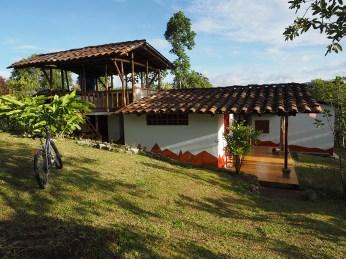 Die ehemalige Casa de Ciclistas en San Augustin