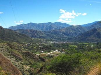 Vilcabamba verschwindet langsam im Tal