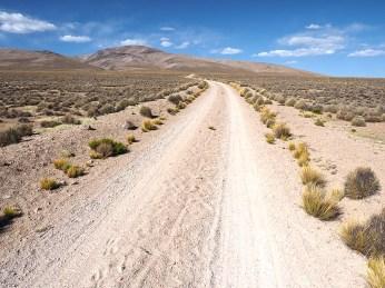 Die Piste nach Chalhuanca