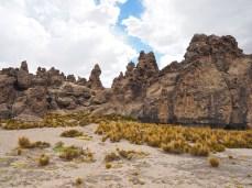 Beim Bosque de Piedras von Imata