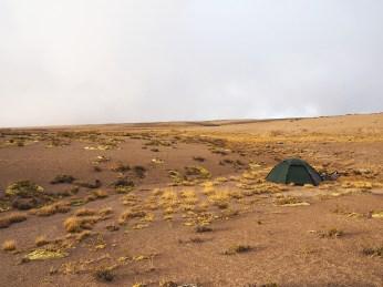 Campen in der Wüste ist nicht so einfach
