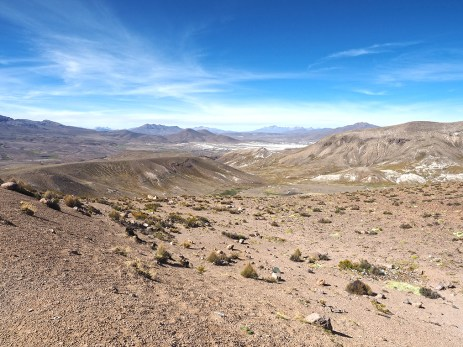 Blick in Richtung Arequipa