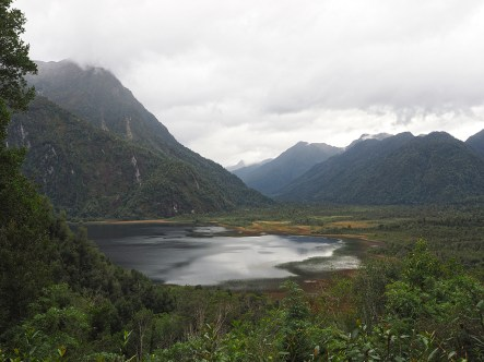 Blick auf den Lago Negro