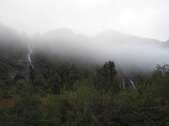 Die Carretera Austral ist sehr wasserreich