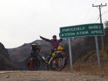 Auf dem Portezuelo Ibañez