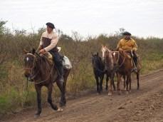 Die Gauchos unterwegs