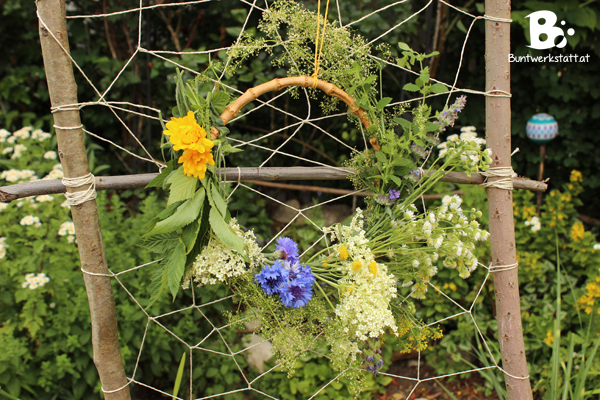 Wildflower Wreaths and Dried Herb Bouquets