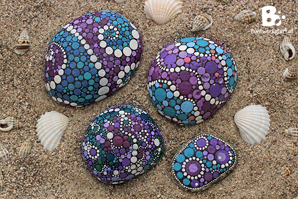 Mandala Stones Picture Gallery Colorful Crafts