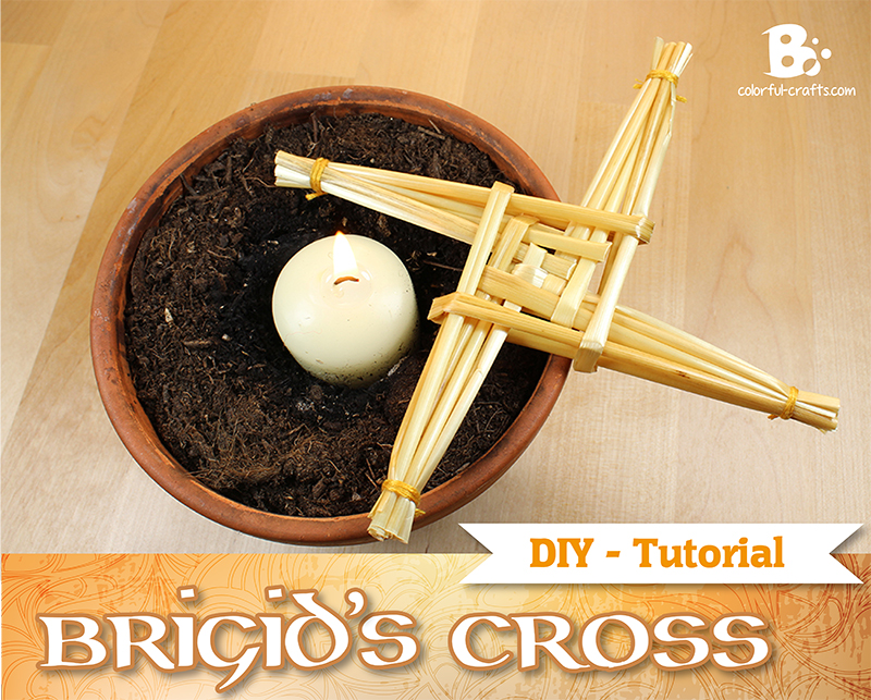 Brigid's Cross Tutorial