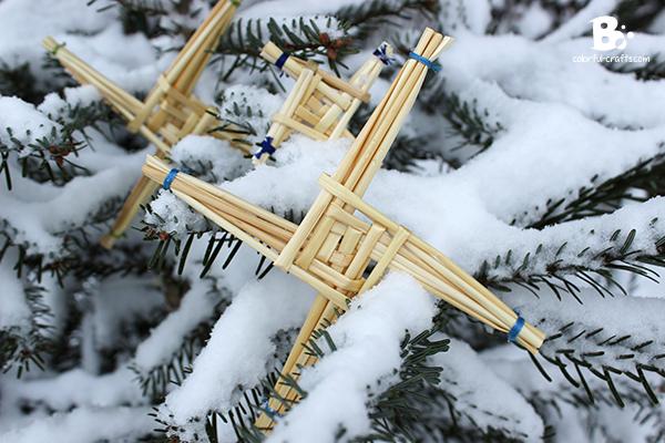 brigids cross snow