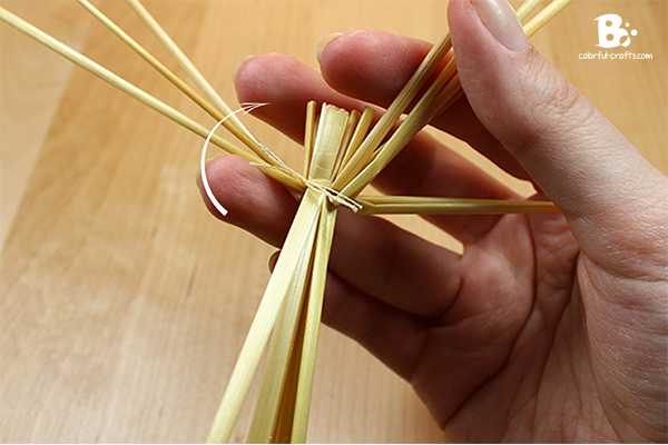 How to make a Brigid Doll - straw doll DIY