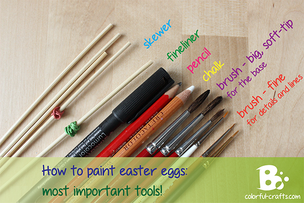 how to paint easter eggs - tips and tricks