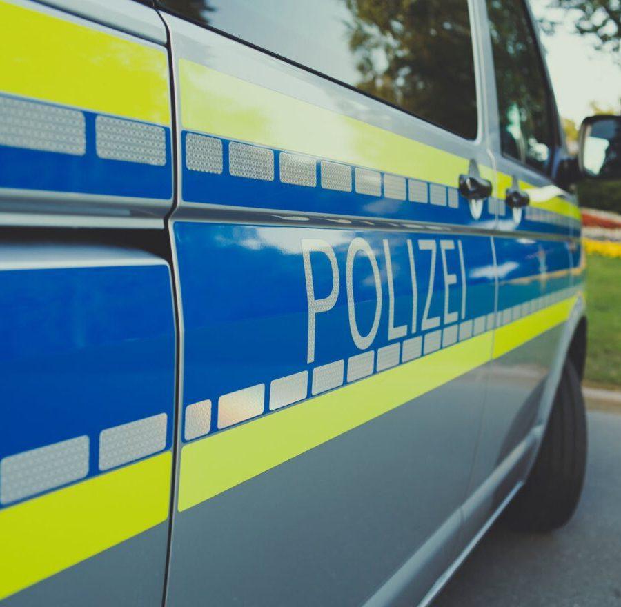 a photo of a police car
