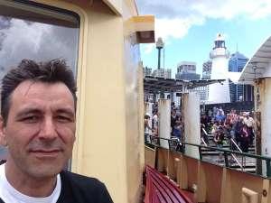 Auf der Fähre in Sydney