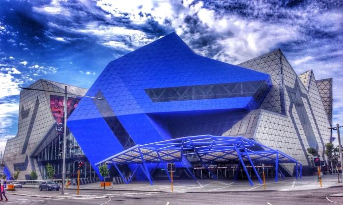 Eingangsbereich der Perth Arena