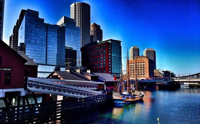 Boston Tea Party und Skyline