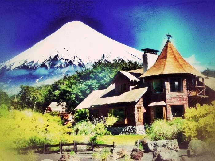 Der Vulkan Osorno aufgenommen in Petrohue