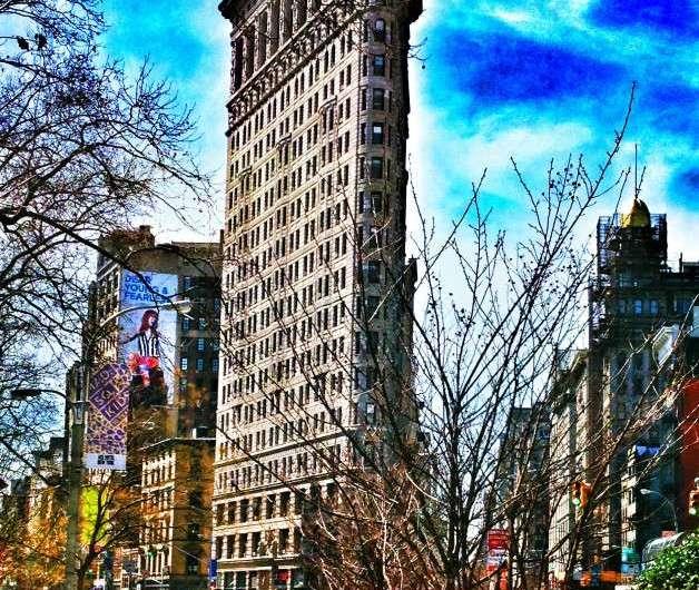 New Yorks Bügeleisen – das Flatiron Building