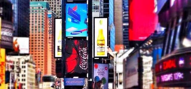 Der Times Square und das Krümelmonster
