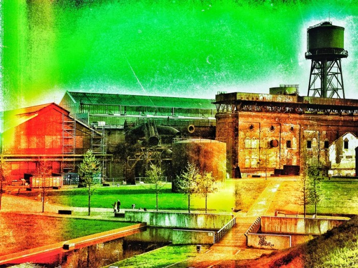 Die Jahrhunderthalle in Bochum