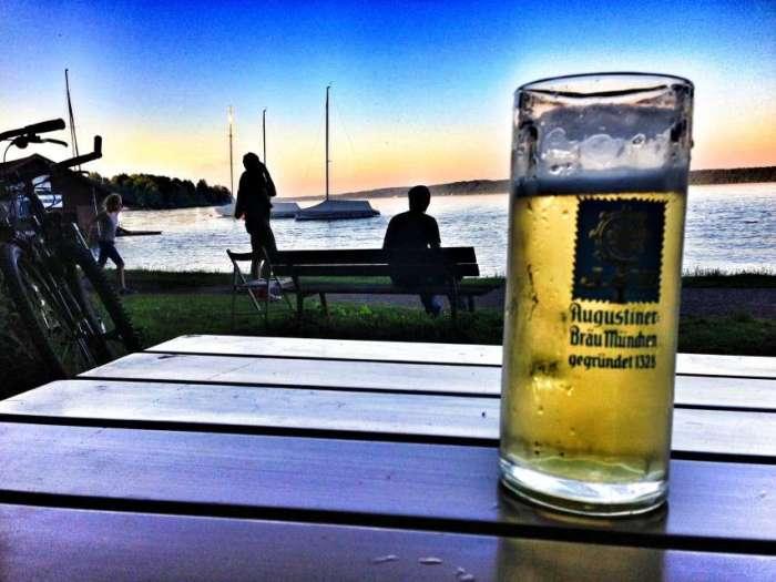 Biergarten am Starnberger See