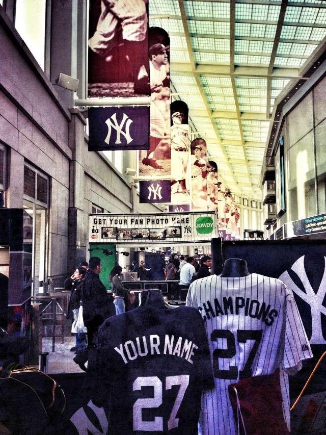 Fanshop im Yankees Stadium