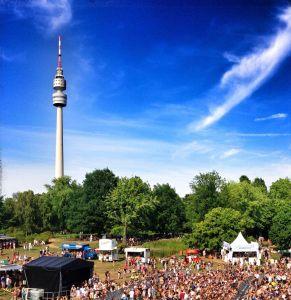 Westfalenpark beim Juicy-Beats-Festival