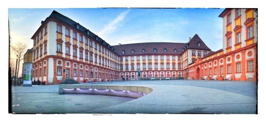 Panorama des alten Schlosses