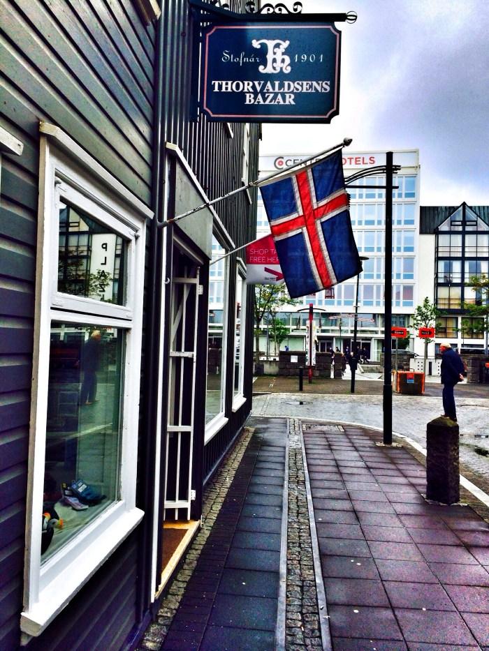 Haus in der Innenstadt von Reykjavik