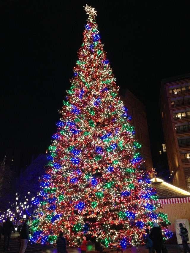 Weihnachtsbaum am Potsdamer Platz
