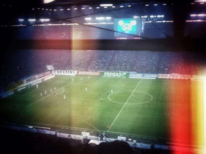 Die Veltins Arena auf Schalke