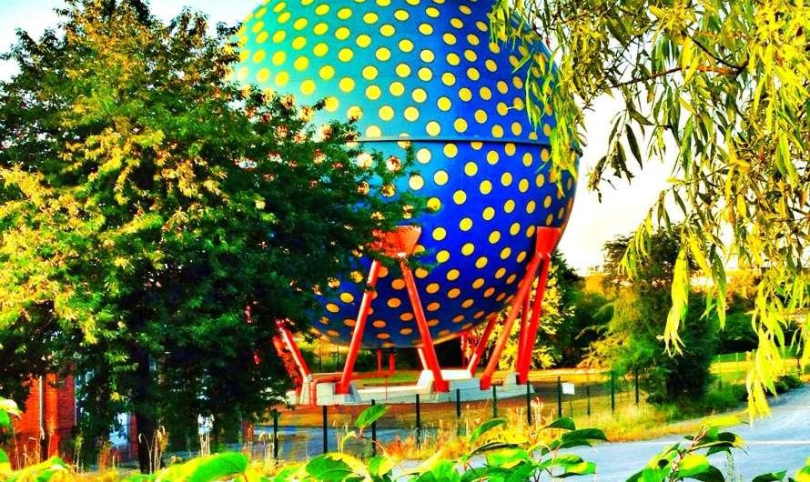 Der Ball in Gelsenkirchen