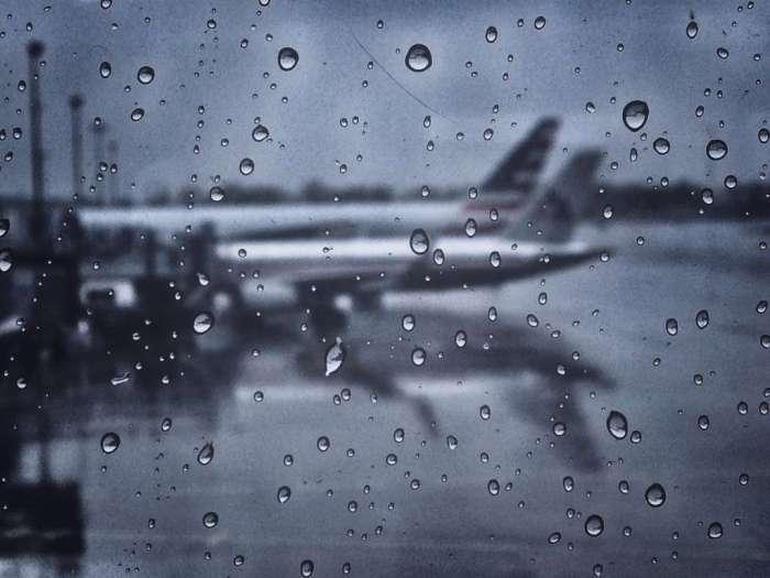 American Airlines auf dem Flughafen JFK