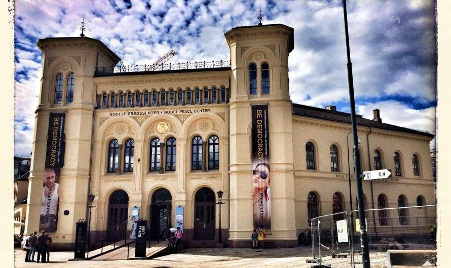 Der Friedensnobelpreis in Oslo