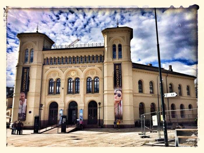 Sitz des Nobelpreiskommitees