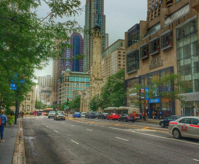 Magnificent Mile – die Shopping-Meile in Chicago