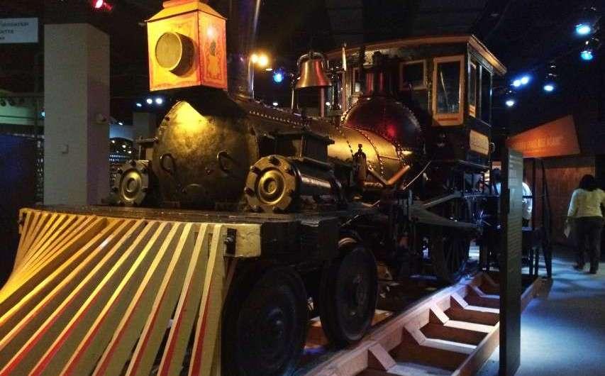 Lincolns Totenbett und eine Lok – das historische Museum Chicago