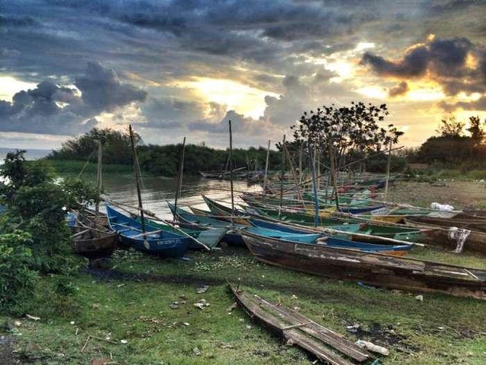 Der Hafen von Kisumu